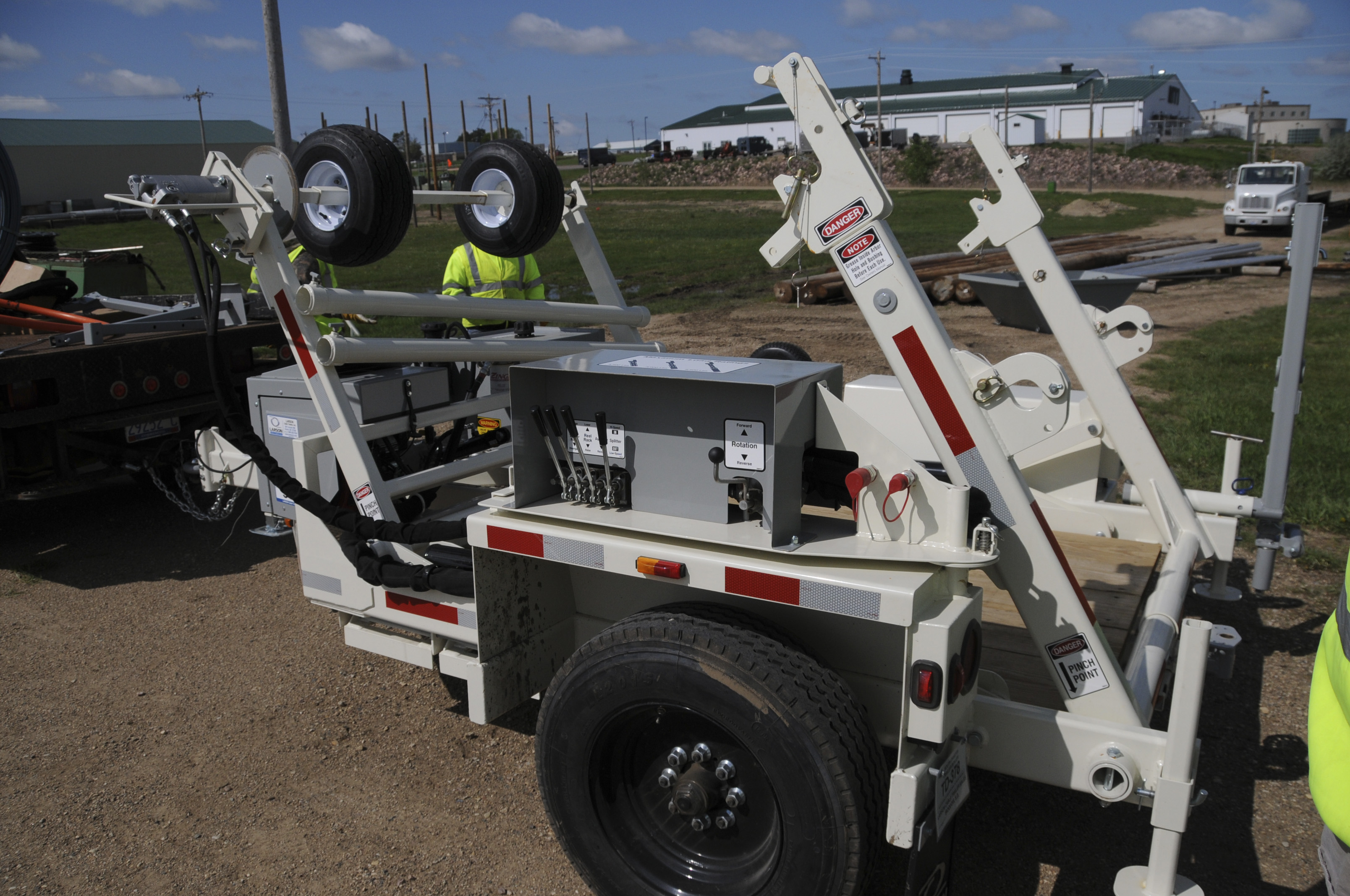Product - Larson Cable Trailers